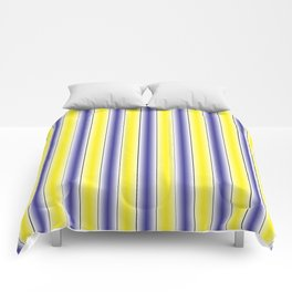 Complementary Series: 1. Purple and Yellow Gradient Comforters