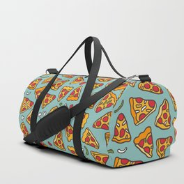 Funny pizza pattern Duffle Bag