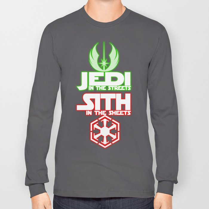 Jedi In The Streets Long Sleeve T-shirt