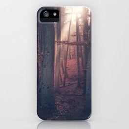 Autumn Moods iPhone Case