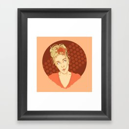 Spaghettihead Framed Art Print