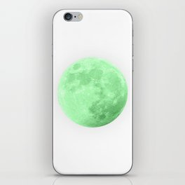 LIME MOON iPhone Skin