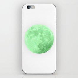 LIME MOON iPhone Skin