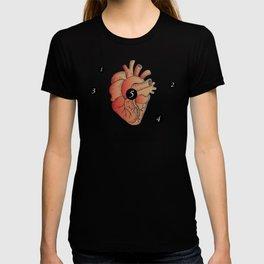 Five Point Palm Exploding Heart Technique T-shirt