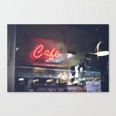 Camera Café Canvas Print