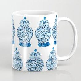 Blue and White Ginger Jar  Coffee Mug