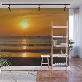 Heavenly ocean sunset Wall Mural