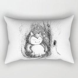 Snoozy Snorlax Rectangular Pillow
