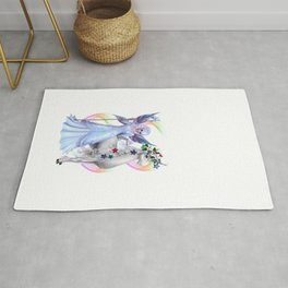 The Fairy and The Unicorn Rug