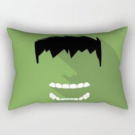 Hulk Flat design Rectangular Pillow