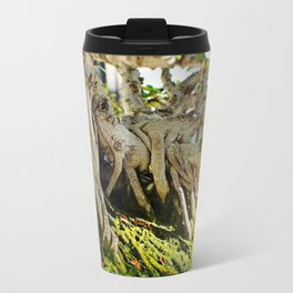 Chinese Banyan Ficus Bonsai Travel Mug