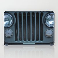 jeep iPad Cases featuring Jeep by Rosa Maun