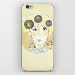 Thoughts at 45 rpm iPhone Skin