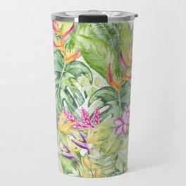 Tropical Garden 1A #society6 Travel Mug