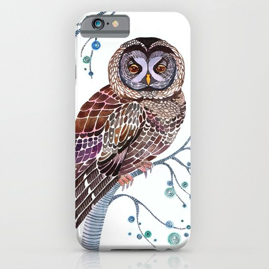 lacy owl iPhone & iPod Case