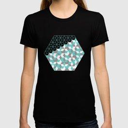 Hexagon(blue) #2 T-shirt