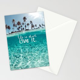 SUMMER-BEACH Stationery Cards