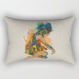Inside you Rectangular Pillow