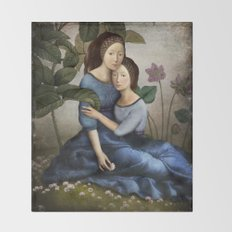 By Your Side Throw Blanket