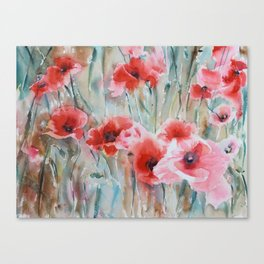 Poppy Season Canvas Print