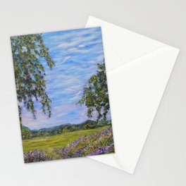 Moments In Time, Impressionism Landscape Stationery Cards