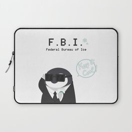Federal Bueau of Ice Laptop Sleeve