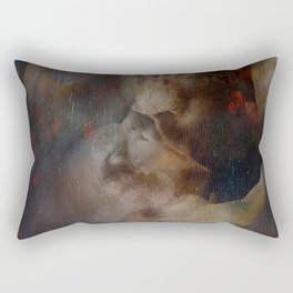 El beso Rectangular Pillow
