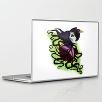 maleficent Laptop & iPad Skins featuring Maleficent by Katie Simpson a.k.a. Redhead-K