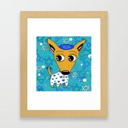 Happy Chihuanukkah! Framed Art Print