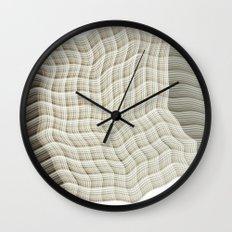 Wicker waves Wall Clock