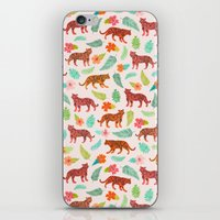 tigers iPhone & iPod Skins featuring Tigers by Abby Galloway