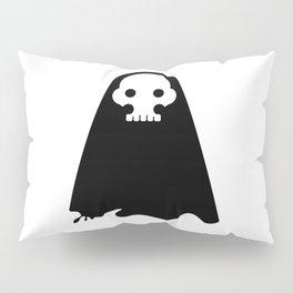 ghost - black Pillow Sham