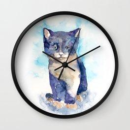 cat#12 Wall Clock