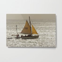 She is best on a Run Metal Print