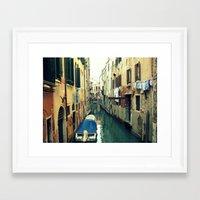 venice Framed Art Prints featuring Venice by Mr & Mrs Quirynen
