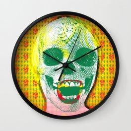 The Scream #8 Wall Clock