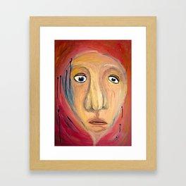 Bystander. Framed Art Print