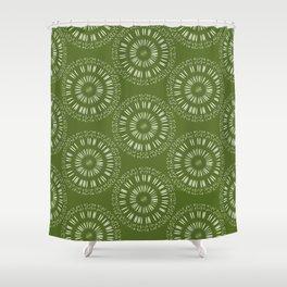 Apophenic Art #1 - When the going gets weird, the weird turn pro. Shower Curtain