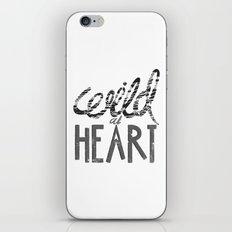 WILD AT HEART iPhone & iPod Skin