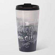 Adventure awaits - go for it! Travel Mug