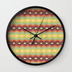 Chevron norvehC Wall Clock