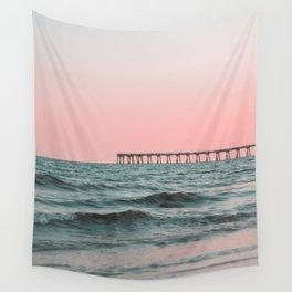 Pink Ocean Wall Tapestry