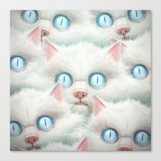 Kittehz I Canvas Print