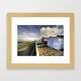 Ho! Huts!  Framed Art Print