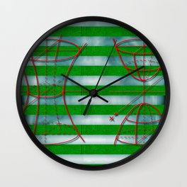 Figure 57 (Diagram Series) Wall Clock