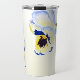 one  pansy Travel Mug