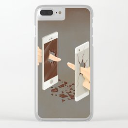 The Real Touch Clear iPhone Case