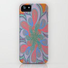 Drops and Petals 3 iPhone Case