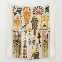 Gods of Egypt-Pharaohs of Egypt Wall Tapestry