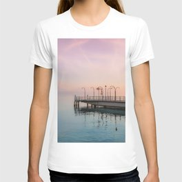 A Suspended Moment In Time Over The Lake T-shirt
